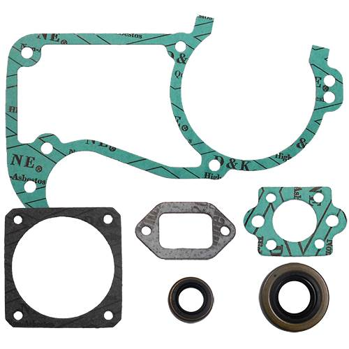 Stihl 034, 036, MS360 gasket set with oil seals