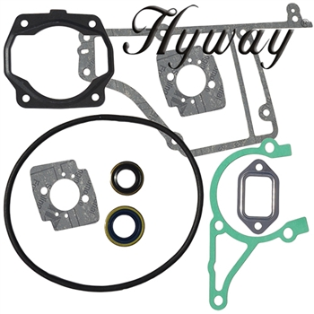 Stihl TS400 complete engine gasket set with oil seals