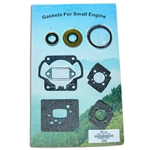 Stihl TS460 gasket set with oil seals