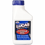 Lucas 2-cycle semi-synthetic oil 2.6 oz