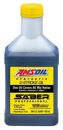 Amsoil Saber Professional Synthetic 2 Stroke Oil Pillow