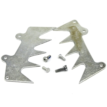 Bumper Spike Set With Screws For Stihl 066 Replaces 1122-664-0503, 1122-664-0508