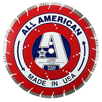 "All American 14"" High Premium Turbo Diamond Saw Blade"