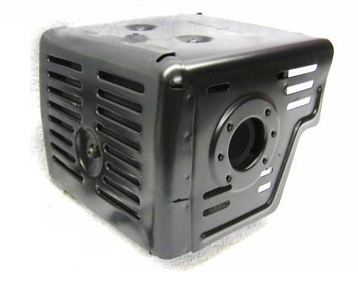 Honda GX340, GX390 muffler with shield