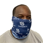 Husqvarna Neck Gaiter Multi-Purpose Face Covering (Blue)