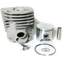 Meteor Husqvarna 55 & 51 cylinder and piston assembly