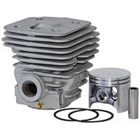 Meteor Husqvarna 395 395XP cylinder and piston assembly