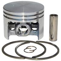 Meteor Husqvarna 394 piston and rings assembly 56mm