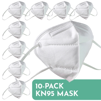 KN95 Disposable Face Mask 10-Pack