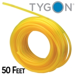 "Tygon fuel line (clear yellow) 1/8"" ID X 1/4"" OD"